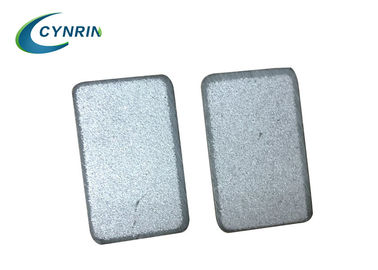 China High Reliability PTC Thermistor Heater Chips With Silver / Aluminum Electrode factory